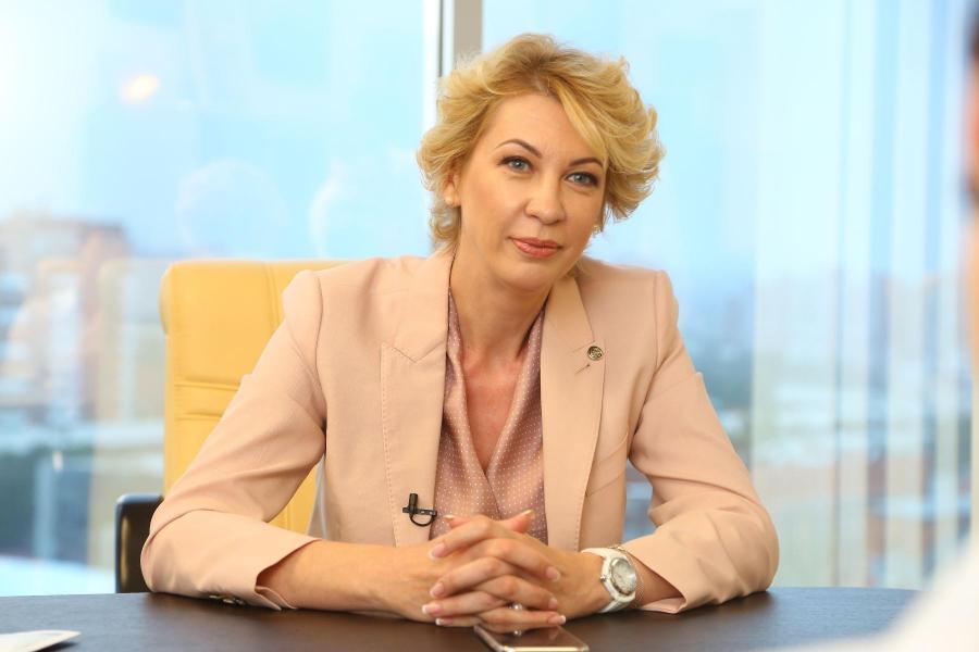 <p>Наталия Цайтлер, управляющая Иркутским отделением Сбербанка</p>