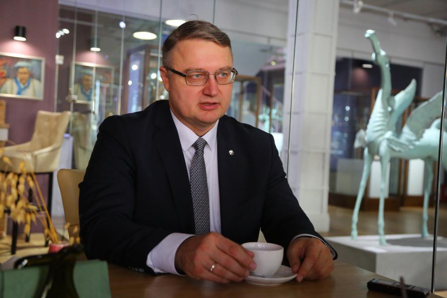 <p>Эдуард Семёнов, директор филиала «БКС Премьер» в Иркутске.<br /> Фото: Андрей Фёдоров.</p>