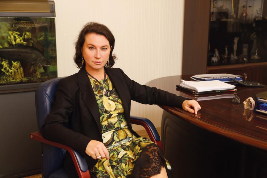 <p>Александра Макарова, управляющий ВТБ в Иркутской области.<br /> Фото: Андрей Фёдоров</p>