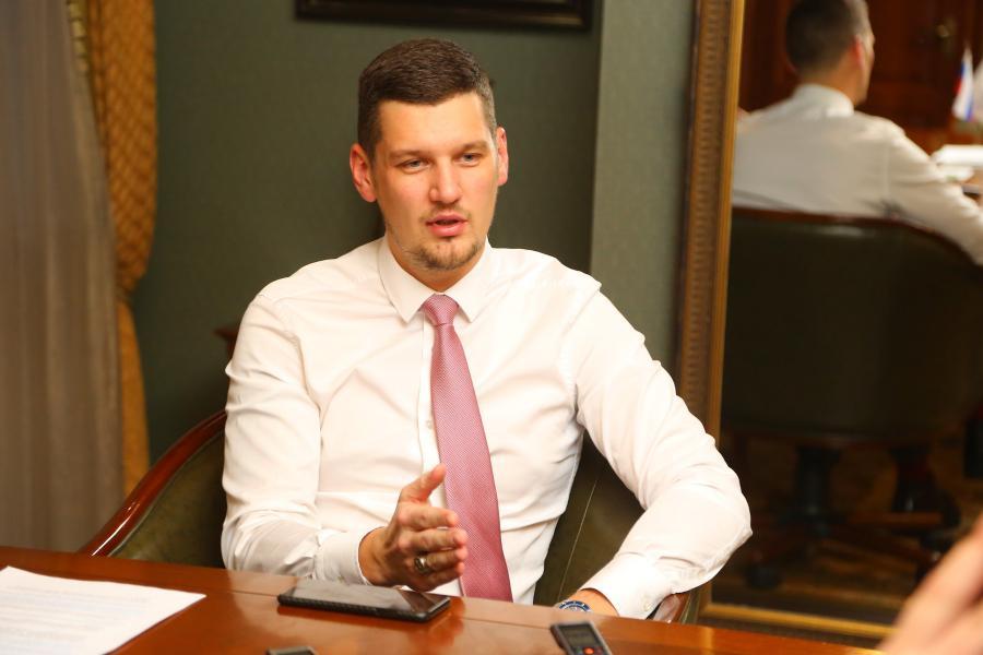 <p>Алексей Волков. Фото А. Федорова</p>