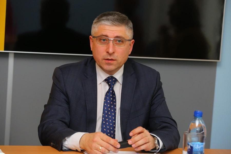 <p>Дмитрий Степаняк, заместитель управляющего по розничному бизнесу банка «Открытие» в Иркутской области</p>
