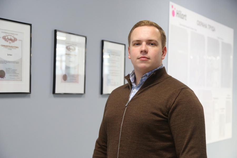 <p>Константин Воробей, директор по развитию компании «МедТехСервис».<br /> Фото: Андрей Фёдоров</p>