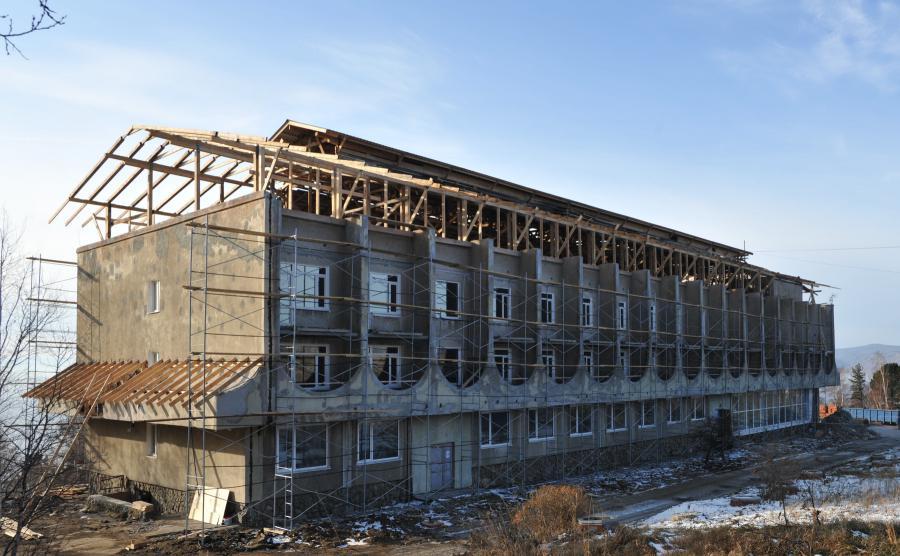 """<p>Реновация отеля """"Байкал"""" в Листвянке</p>"""