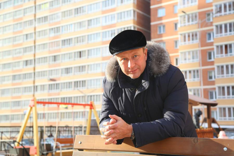 <p>Алексей Распутин, руководитель ФСК «Родные берега». фото А.Федорова</p>