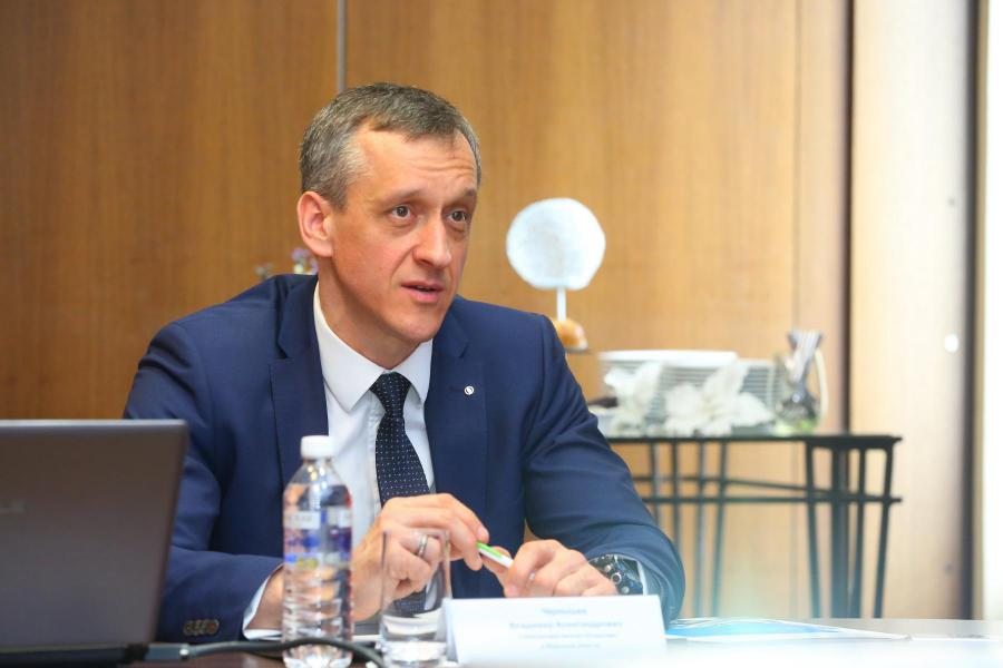 <p>Владимир Чернышев, управляющий банком «Открытие» в Иркутской области</p>