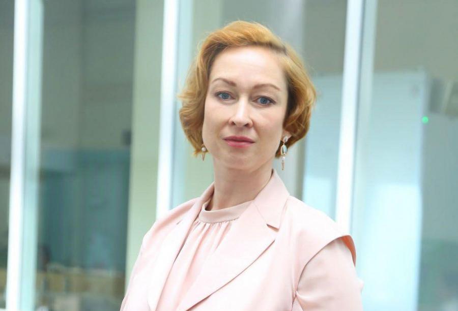 <p>Оксана Лобова, заместитель председателя Байкальского банка Сбербанка</p>