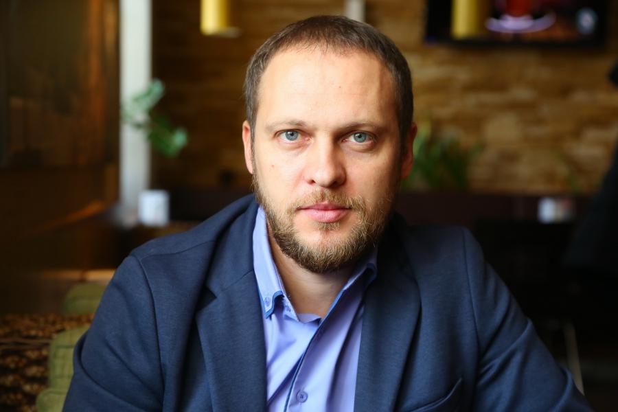 <p>Вадим Остапенко, региональный директор ИК «Фридом Финанс».<br /> Фото А.Федорова</p>