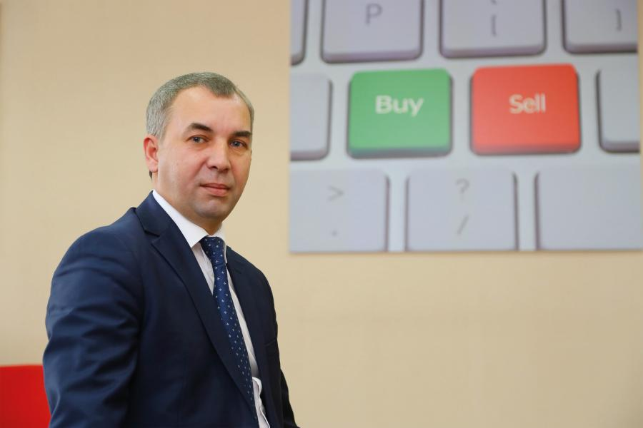 <p>Константин Тютрин, консультационный управляющий компании «Финам» в Иркутске<br /> Фото А.Федорова</p>