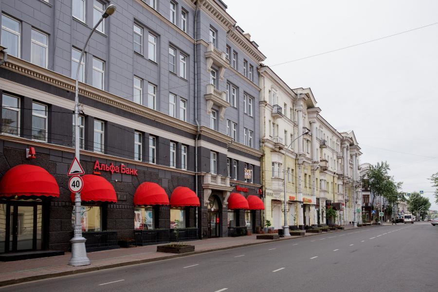 <p>Центр ипотечного кредитования Альфа-Банка в Иркутске.<br /> Фото: Ольга Иванова</p>