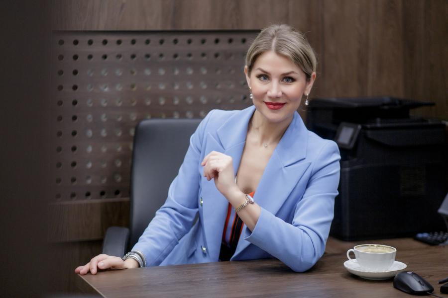 <p>Ольга Беспечная, региональный управляющий Альфа-Банка в Иркутске.<br /> Фото: Ольга Иванова</p>