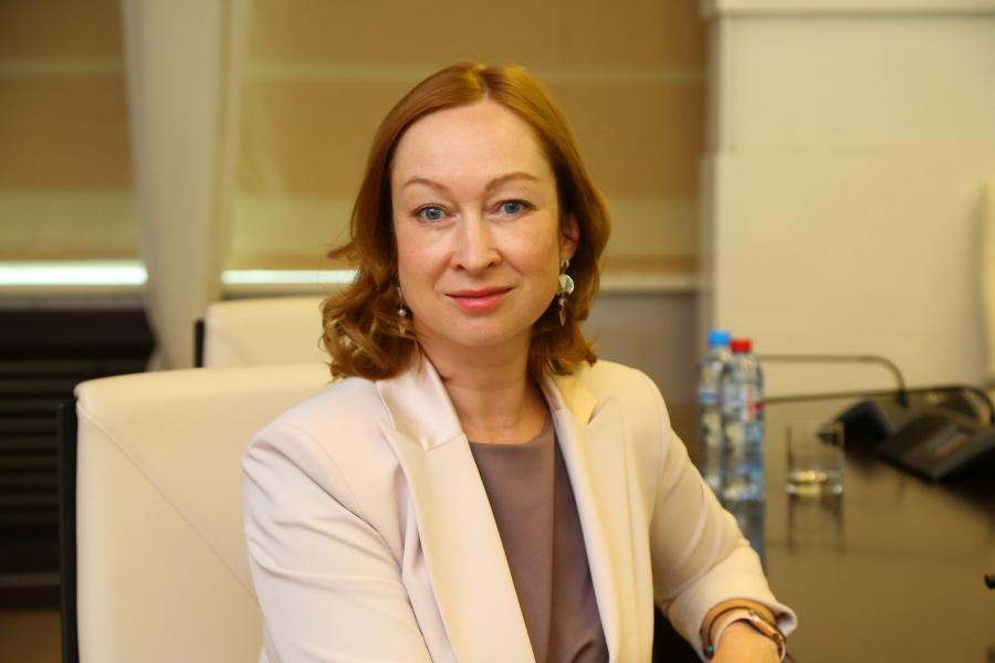 <p>Оксана Лобова, заместитель председателя Байкальского Банка Сбербанка.<br /> Фото: Андрей Фёдоров</p>