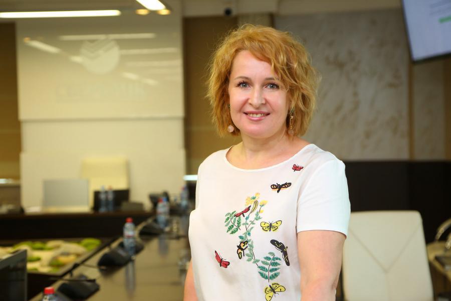 <p>Юлия Кальвина, заместитель председателя Байкальского банка Сбербанка.<br /> Фото: Андрей Фёдоров</p>