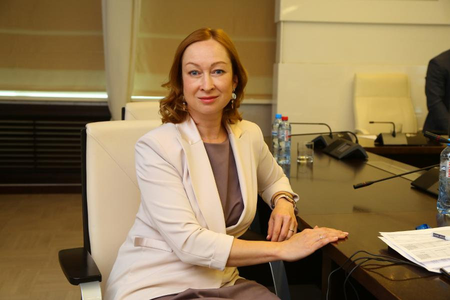 <p>Оксана Лобова, заместитель председателя Байкальского банка ПАО Сбербанк.<br /> Фото: Андрей Фёдоров.</p>