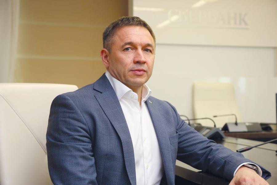 <p>Александр Абрамкин,председатель Байкальского банка Сбербанка<br /> Фото: А.Федорова</p>