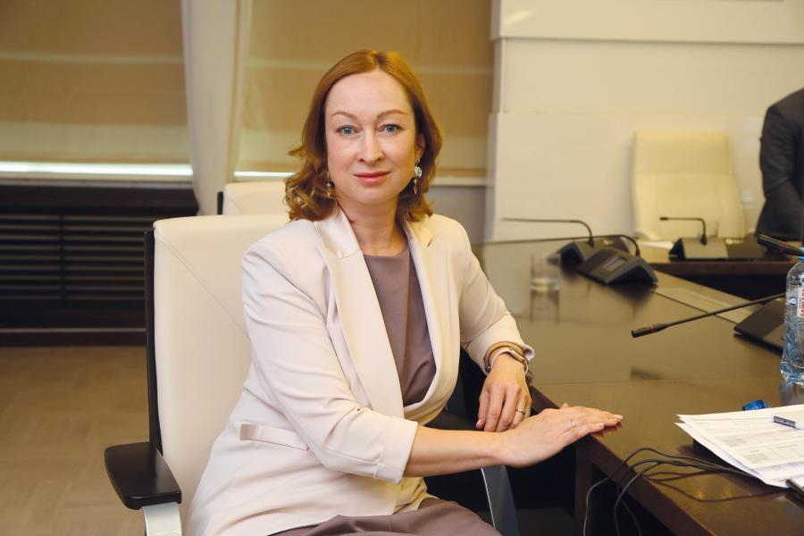 <p>Оксана Лобова,заместитель председателя Байкальского банка Сбербанка<br /> Фото: А.Федорова</p>