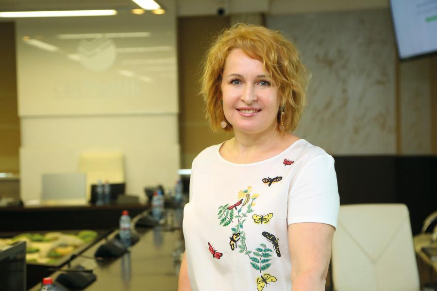 <p>Юлия Кальвина,заместитель председателя Байкальского банка Сбербанка<br /> Фото: А.Федорова</p>