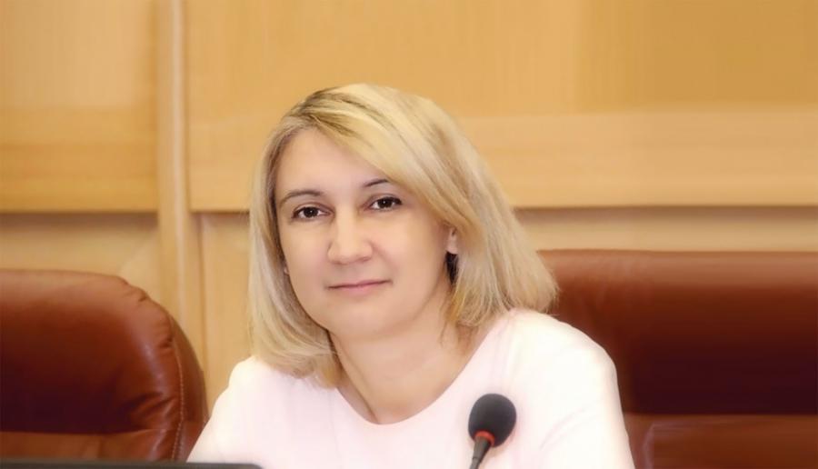 <p>Наталья Дикусарова, председатель бюджетного комитета Заксобрания Иркутской области. ФотоЛ.Леоновой</p>
