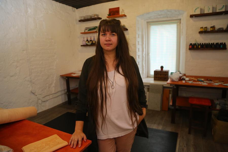 <p>Оксана Шинкевич, предприниматель.<br /> Фото: А.Федоров</p>