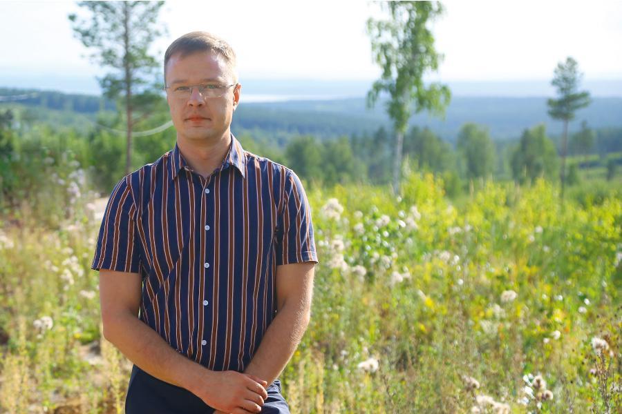 <p><strong>Владимир Доценко,руководитель отдела продаж Clever Smart Village. </strong>фото - А. Федорова</p>