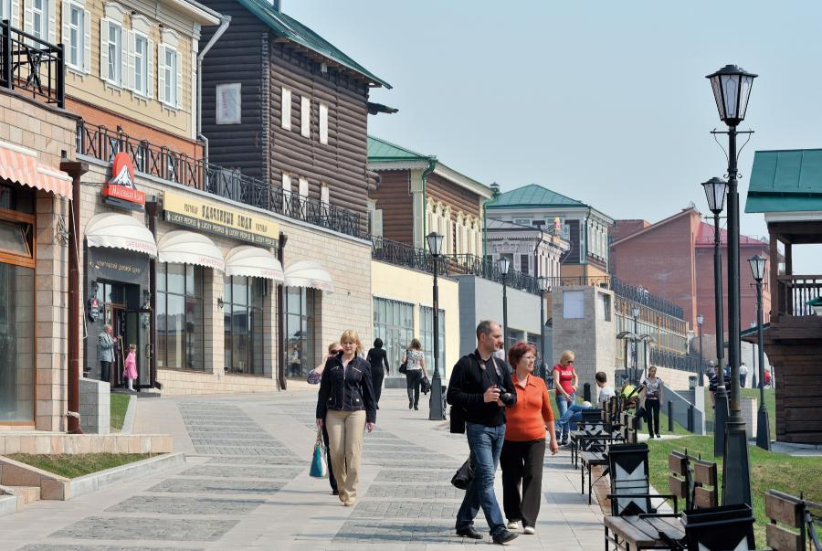 <p>Регенерация квартала 130 в историческом центре Иркутска. Фото Анатолия Бызова</p>