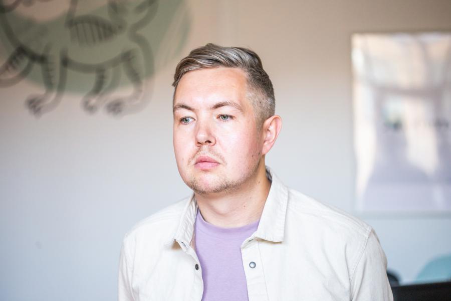 <p>Антон Паймышев, директор диджитал-агентства«Адикт».<br /> Фото: Антон Климов</p>