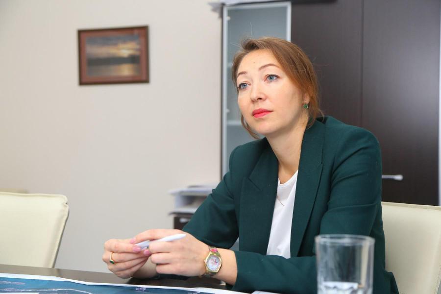 <p>Екатерина Прядко, «Гранд-Строй».<br /> Фото А. Федорова</p>
