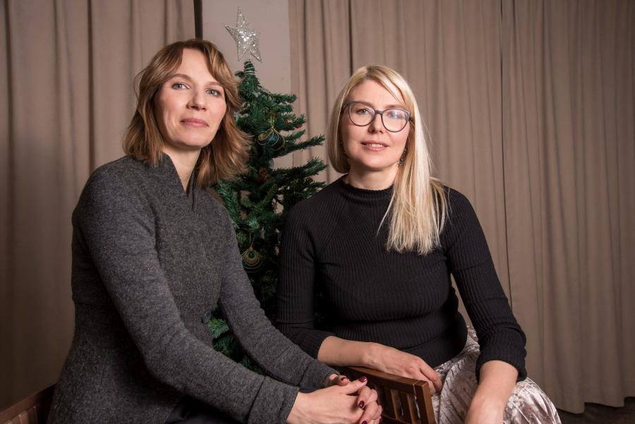 """<p>Анна Логинова, основательница кулинарной студии """"Anetti"""" (справа) и её деловой партнёр Наталья Селенкова</p>  <p>Фото из архива компании</p>"""