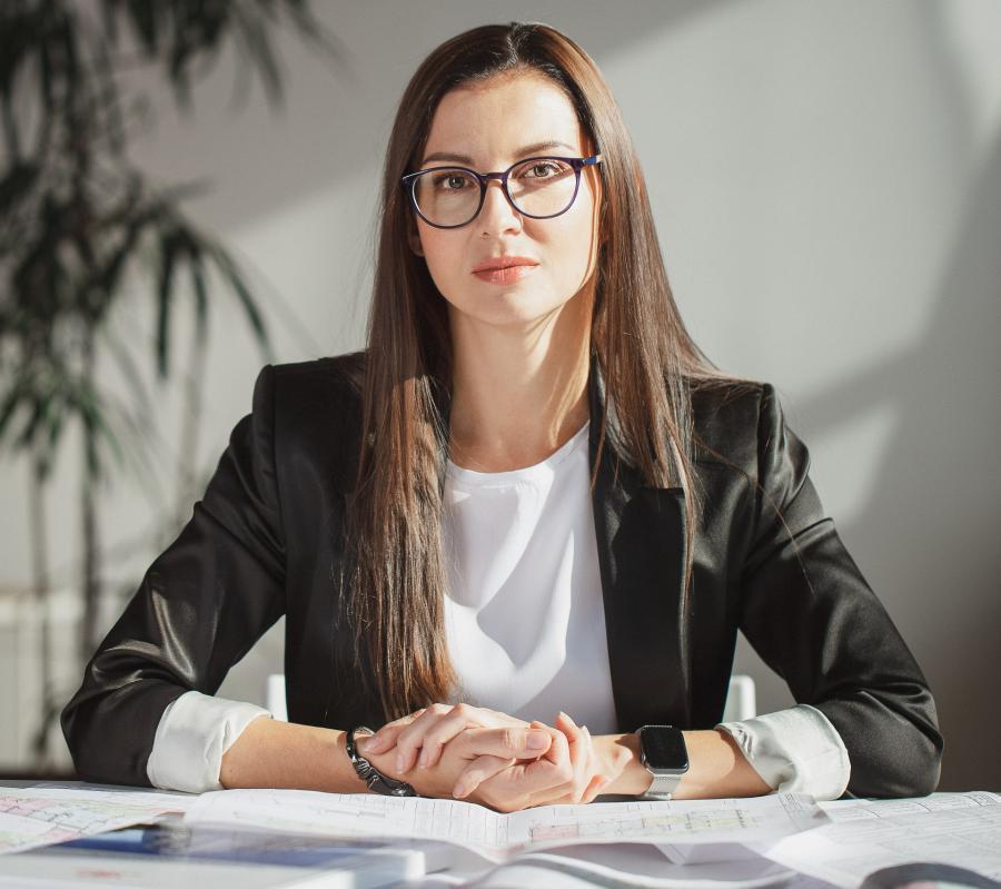 <p>Ольга Иванова. Директорстроительной компании «Флагман» (фото из архива компании)</p>