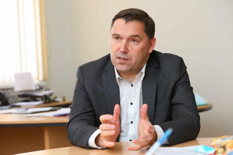<p>Виктор Ильичёв, основатель ГК «ВостСибСтрой». фото - А. Федорова</p>