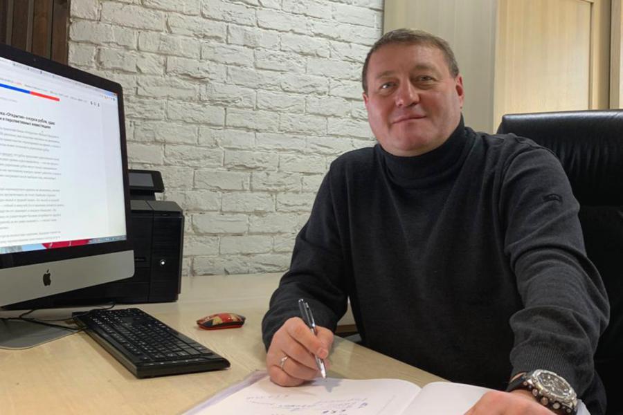 <p>Михаил Сигал, генеральный директор строительной компании «Восток Центр Иркутск»</p>
