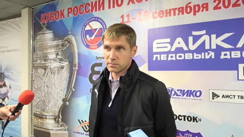 <p>Евгений Хвалько, главный тренер команды «Байкал-Энергия»</p>
