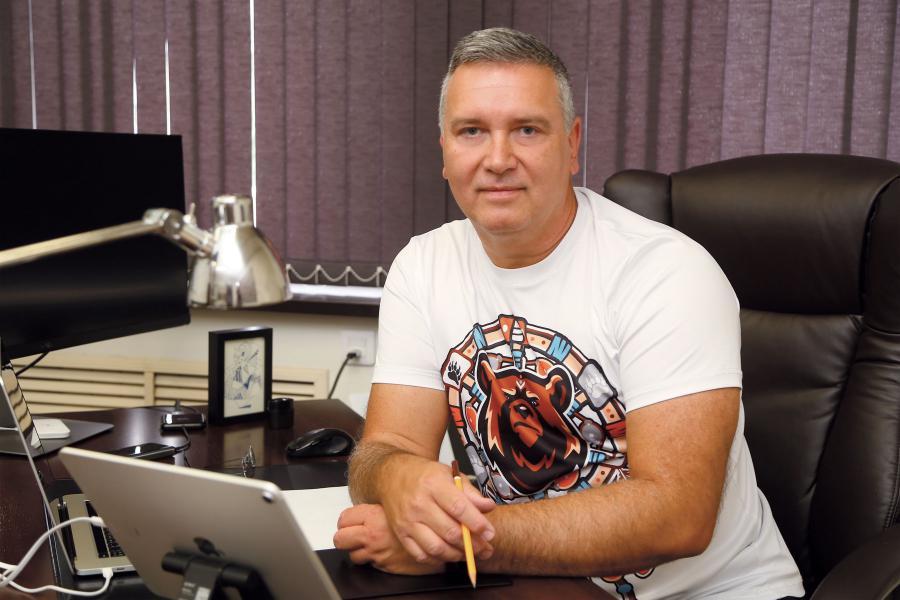 <p><em>Ярослав Шиллер,исполнительный директор ТС «Слата» и ТС «ХлебСоль»<br /> Фото А.Федорова</em></p>