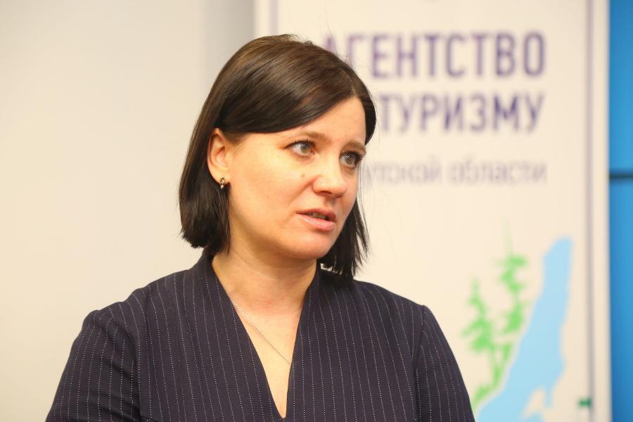 <p>Екатерина Сливина, руководитель агентства по туризму Иркутской области.<br /> Фото: Андрей Фёдоров.</p>