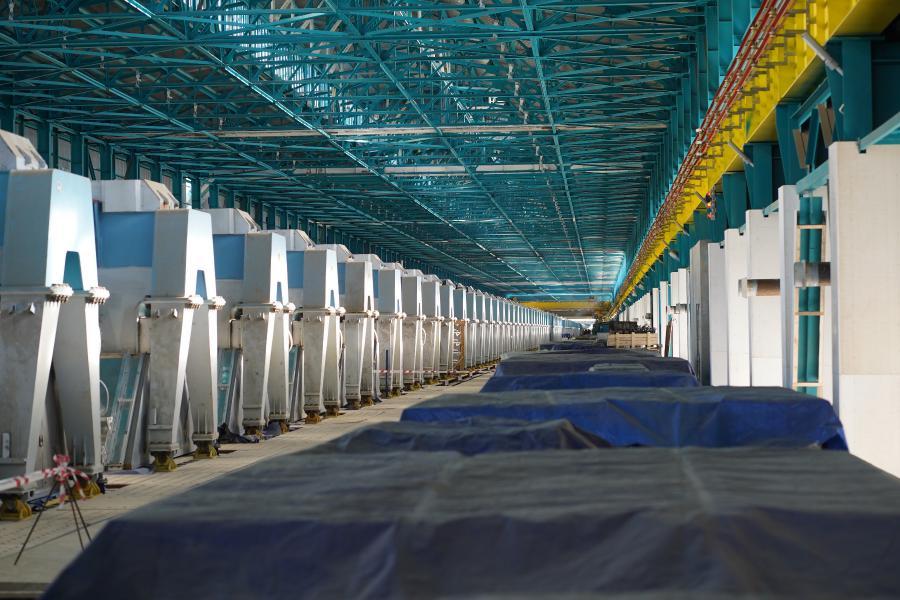 <p>En+ Group дала первую электроэнергию с подстанции «Озерная» на Тайшетский алюминиевый завод.<br /> Фото: Алексей Головщиков.</p>