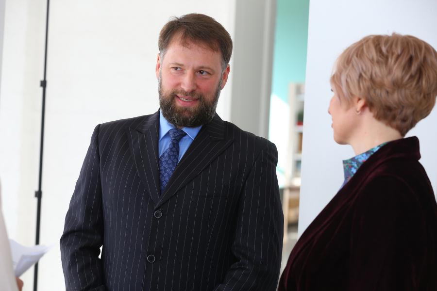 <p>Владислав Буханов, председатель совета директоров агрохолдинга «Саянский бройлер».<br /> Фото: Андрей Фёдоров.</p>