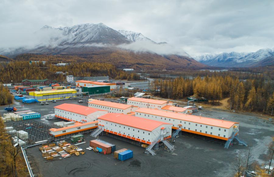 <p>Вахтовый поселок компании «Полиметалл» в Якутии<br /> Фото из архива компании</p>