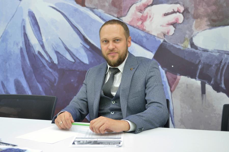 <p>Вадим Остапенко, директор филиала ИК «Фридом Финанс» в Иркутске<br /> Фото А.Федорова</p>