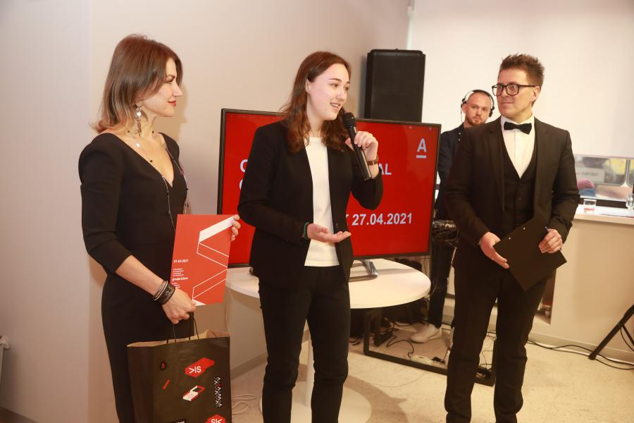 <p>Вероника Карасёва, одна из стипендиаток программы банка «Альфа-Шанс».<br /> Фото: Андрей Фёдоров.</p>