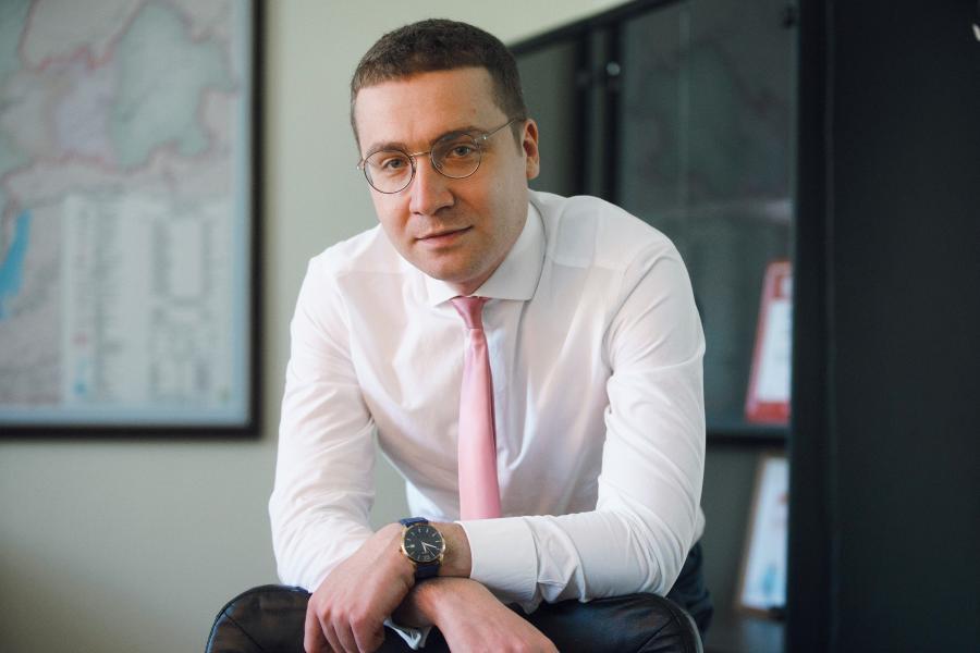 <p>Владислав Божеев, директор филиала МТС в Иркутской области<br /> Фото из архива компании</p>