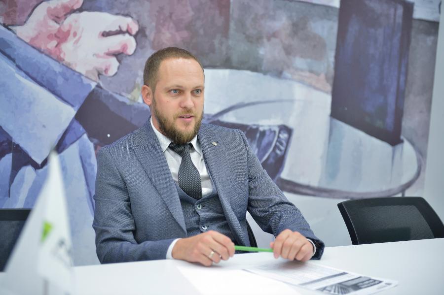<p>Вадим Остапенко, директор филиалаИК «Фридом Финанс» в Иркутске<br /> Фото А.Федорова</p>