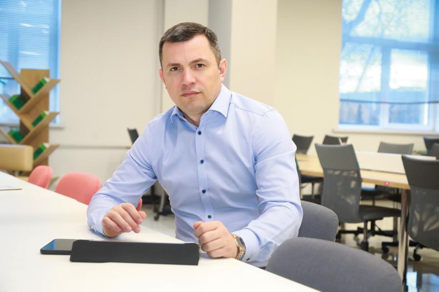 <p>Первый зампред правительства Иркутской области Руслан Ситников.<br /> Фото: Андрей Фёдоров.</p>