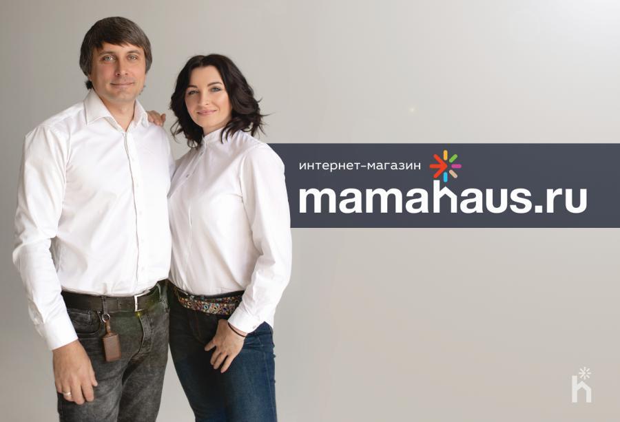 <p>Виктор и Марина, собственники проекта Mamahaus.ru<br /> Фото из архива компании</p>