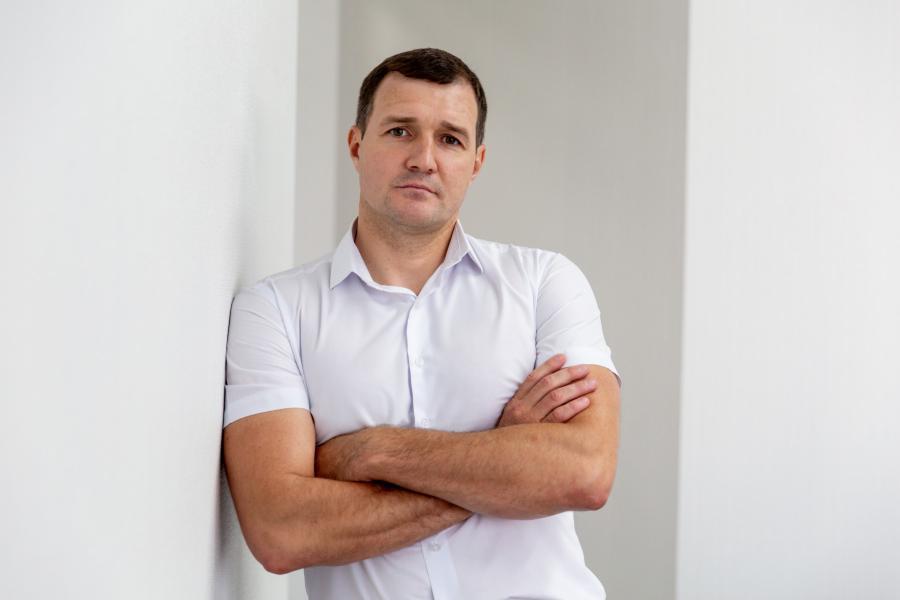<p>Эдуард Кузьмин, директор дополнительного офиса ПАО СКБ Приморья«Примсоцбанк» г. Иркутск<br /> Фото из архива компании</p>