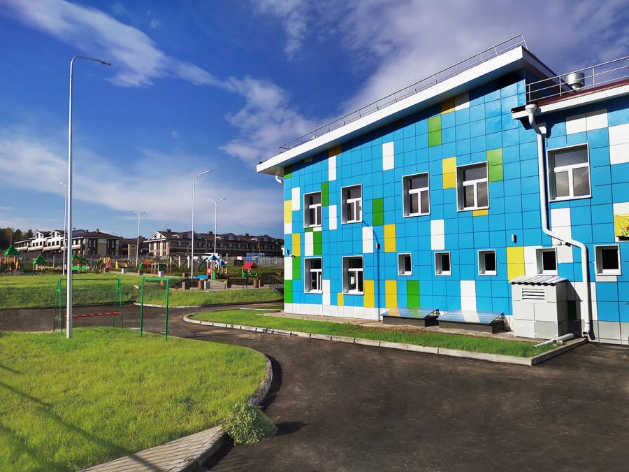 <p>Детский сад в микрорайоне Хрустальный Парк. Фото из архива компании</p>