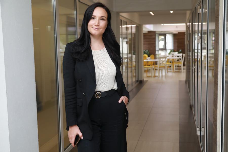 <p>Кристина Яковенко, коммерческий директор компании «Хрустальный Девелопмент»<br /> Фото А.Федорова</p>