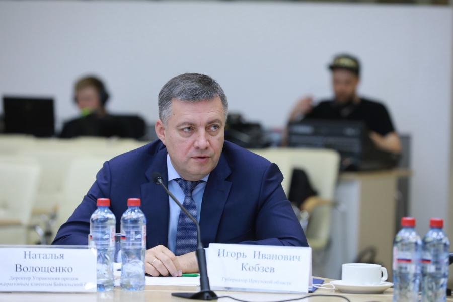 <p>Игорь Кобзев, губернатор Иркутской области.<br /> Фото: Андрей Фёдоров.</p>