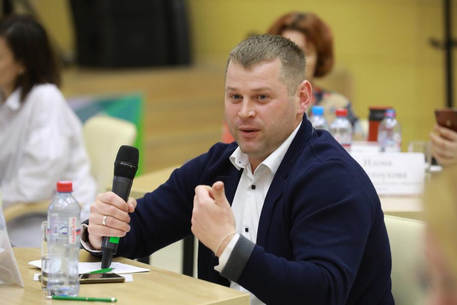 <p>Кирилл Казаков, руководитель проекта VR Baikal.<br /> Фото: Андрей Фёдоров</p>