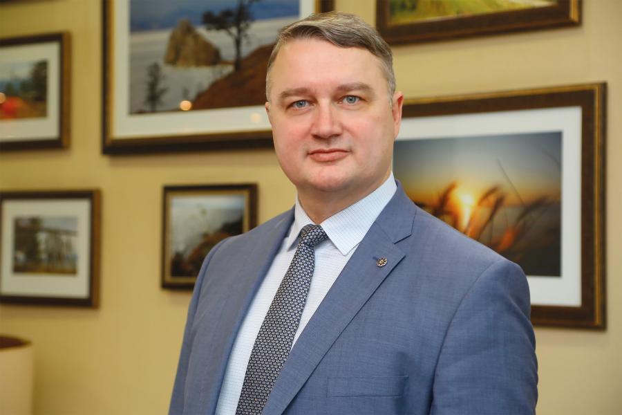 <p>Эдуард Семенов, управляющий офисом «БКС Мир инвестиций» в Иркутске<br /> Фото А.Федорова</p>
