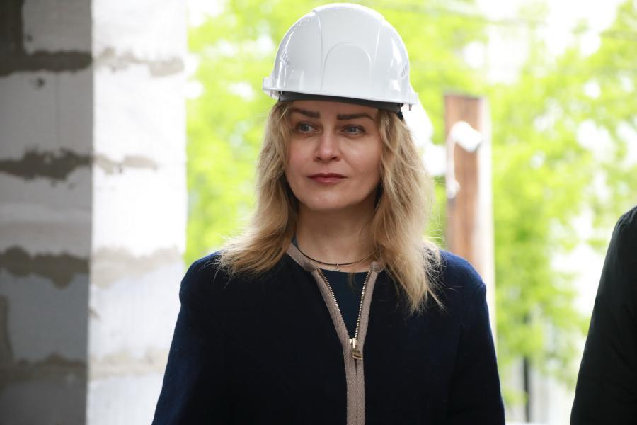 <p>Евгения Пуляевская. Фото А. Федорова</p>