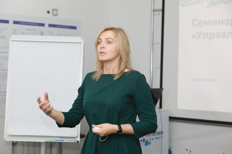 <p>Мария Стародубова, руководитель грантового конкурса En+ Group.<br /> Фото: А. Федоров</p>